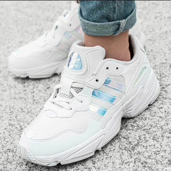 New Adidas Yung 96 White Chunky Sneaker